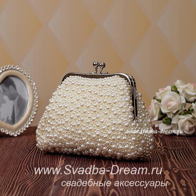 3c3f8609b455 Свадебный клатч для невесты